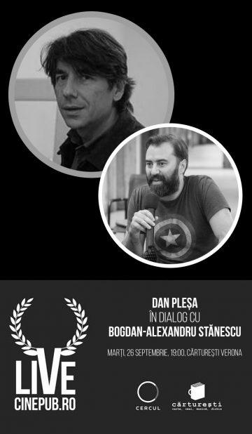 CINEPUB LIVE - Dan Plesa - Bogdan Alexandru Stanescu