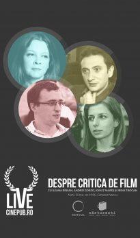 CINEPUB LIVE - Despre critica de film