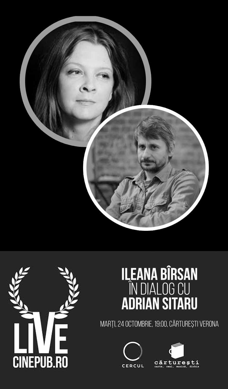 CINEPUB LIVE - Ileana Birsan - Adrian Sitaru