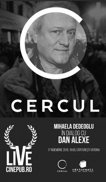 Cinepub LIVE - Mihaela Dedeoglu - Dan Alexe