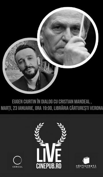CINEPUB LIVE - Eugen Ciurtin - Cristian Mandeal - afis
