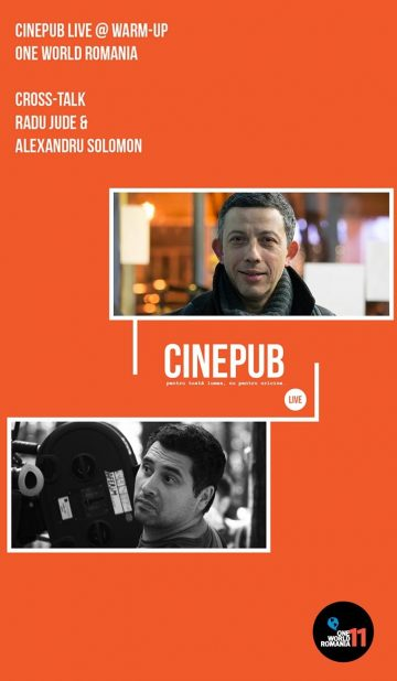 CINEPUB LIVE - Cross-Talk Radu Jude & Alexandru Solomon