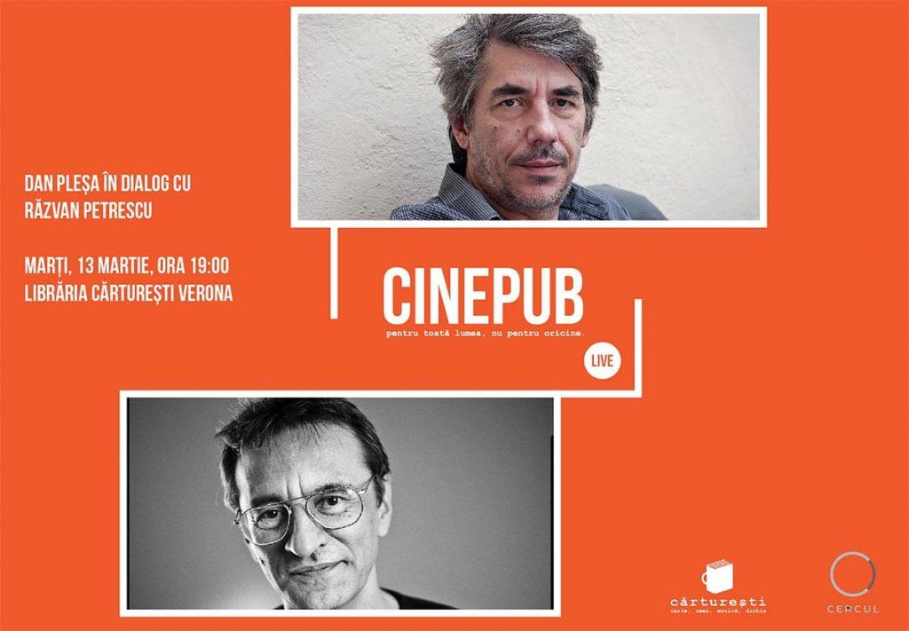 CINEPUB LIVE - Dan Plesa - Razvan Petrescu - web