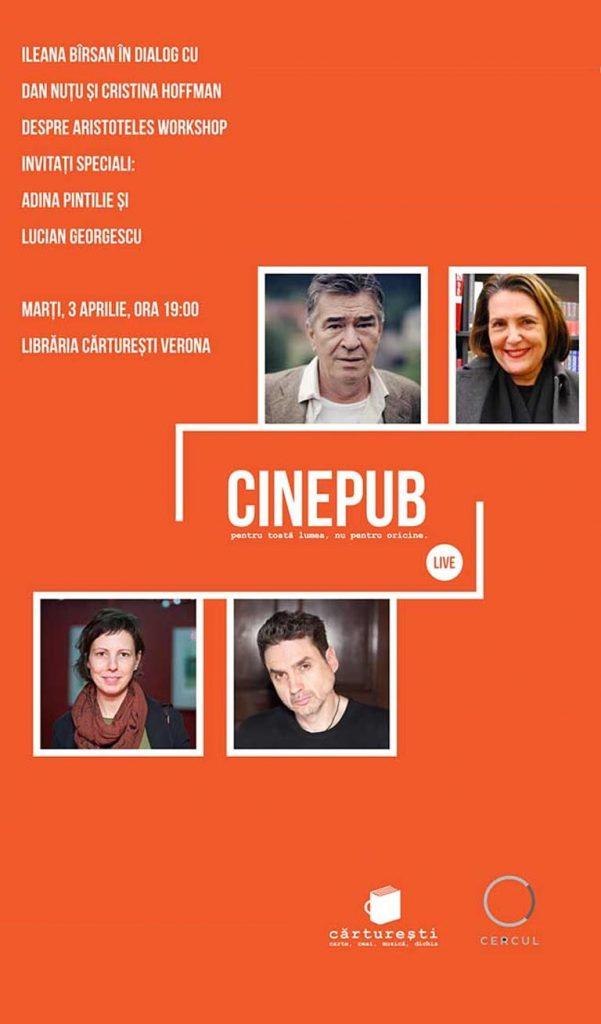 CINEPUB LIVE - Ileana Birsan - Adina Pintilie - Dan Nutu