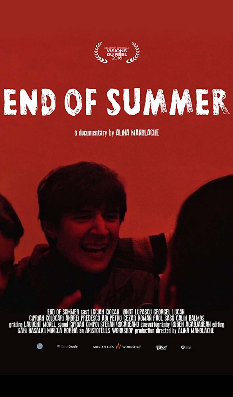End of Summer - afis - web