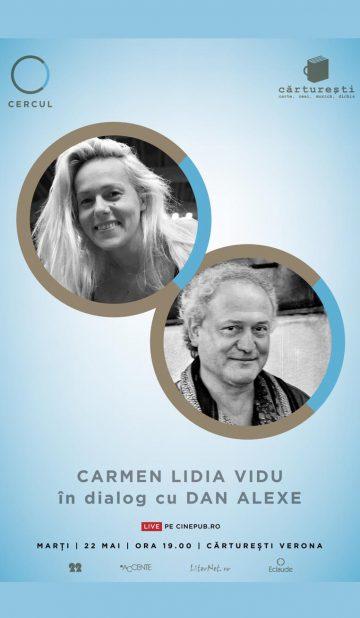 CINEPUB Live - Carmen Lidia Vidu si Dan Alexe