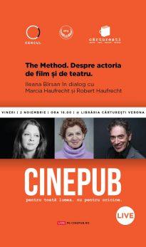 Ileana Bîrsan în dialog cu Marcia Haufrecht și Robert Haufrecht