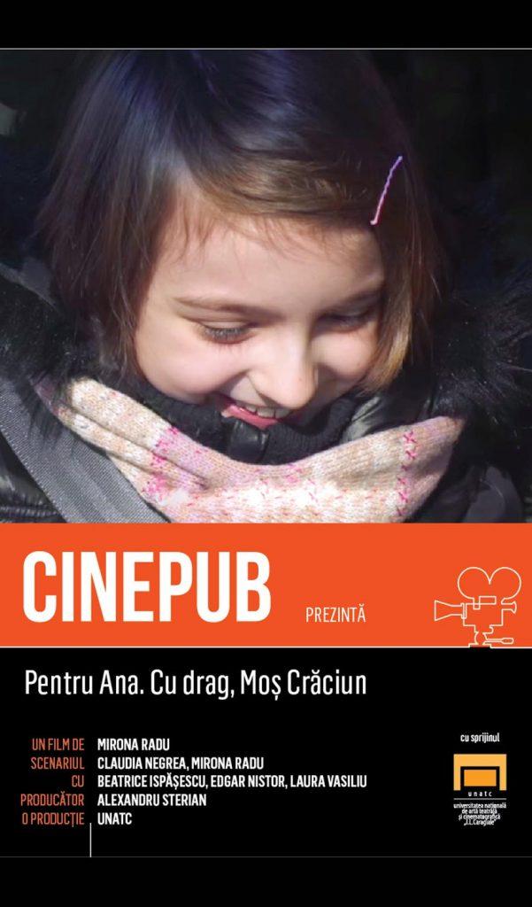 Pentru Ana, cu drag, Mos Craciun - Mirona Radu - CINEPUB - UNATC