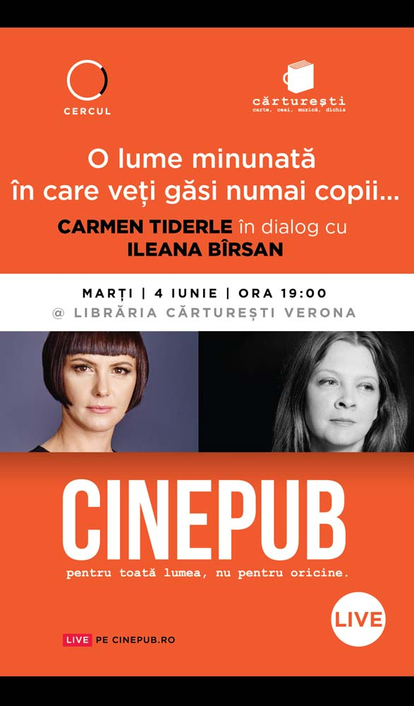 CINEPUB Live - Carmen Tiderle - Ileana Barsan