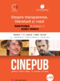 Radu Vancu și Dan Pleșa: Despre transparențe, literatură și viață - CINEPUB LIve & CERCUL