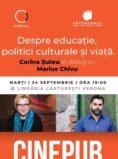 Corina Suteu si Marius Chivu - Educatie si politici culturale - CINEPUB Live & CERCUL