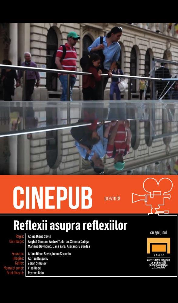 Reflexii asupra reflexiilor - scurtmetraj - CINEPUB