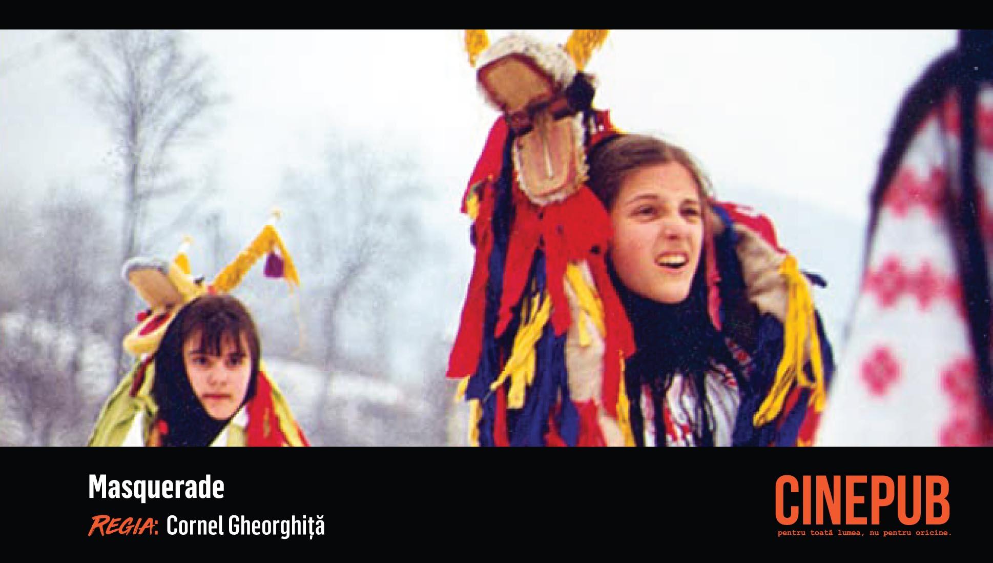 Mascarada - Cornel Gheorghiță - CINEPUB