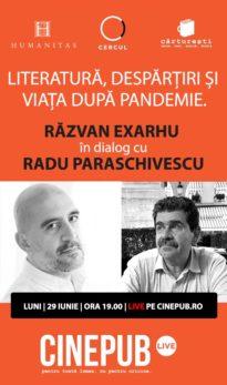 CINEPUB LIVE - Razvan Exarhu si Radu Paraschivescu