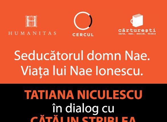 CINEPUB LIVE - Tatiana Niculescu si Catalin Striblea - Seducatorul domn Nae. Viata lui Nae Ionescu.