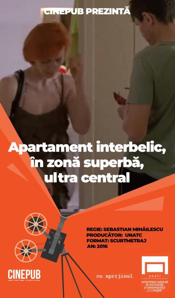 Apartament interbelic, zonă superbă, ultracentrală - Sebastian Mihăilescu CINEPUB