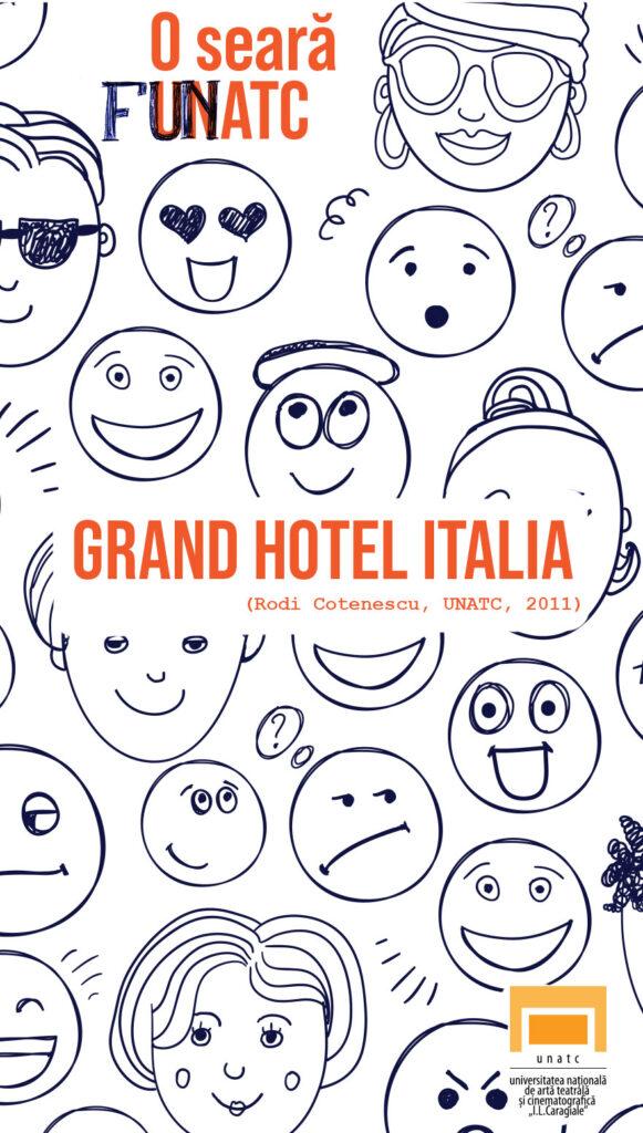 Grand Hotel Italia - scurtmetraj UNATC regia de Rodi Cotenescu - CINEPUB