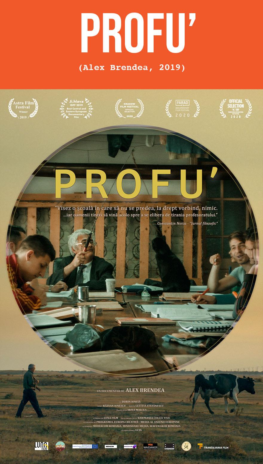 Profu - de Alex Brendea - documentar online pe CINEPUB